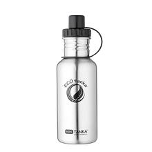 ECOtanka miniTANKA 600ml stainless steel water bottle with sports lid