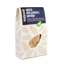 Apricot & Cranberry Porridge Oats 500g Carton