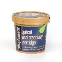 Apricot & Cranberry Porridge Oats Pot
