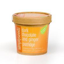 Dark Chocolate & Ginger Porridge Oats 500g Carton