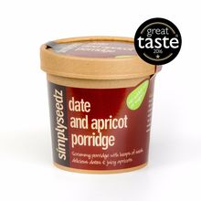 Date & Apricot Porridge Oats 500g Carton