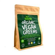 BodyMe Organic Vegan Greens Powder Superfood Blend - 270g (30 Servings)