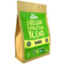 BodyMe Organic Vegan Protein Powder Blend - Naked & Natural - 1kg (30 Servings)