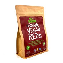 BodyMe Organic Vegan Reds Powder Superfood Blend - 270g (30 Servings)