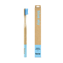 f.e.t.e | 'Blue Sky' Adult's Soft Bamboo Toothbrush
