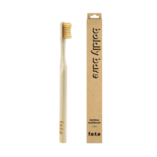 f.e.t.e | 'Boldly Bare' Adult's Firm Bamboo Toothbrush