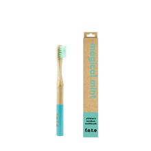 f.e.t.e | 'Magical Mint' Children's Soft Bamboo Toothbrush