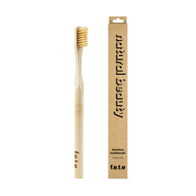 f.e.t.e | 'Natural Beauty' Adult's Medium Bamboo Toothbrush