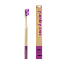 f.e.t.e | 'Purple Pizazz' Adult's Medium Bamboo Toothbrush
