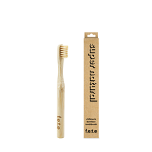 f.e.t.e | 'Super Natural' Children's Soft Bamboo Toothbrush