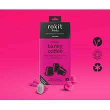 Rokit Pods Organic Barley Coffee Nespresso Compatible Pods 20pk