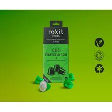 Rokit Pods CBD Matcha Green Tea Nespresso Compatible Pods 10 Pod Pack
