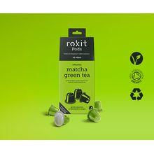 Rokit Pods Organic Matcha Green Tea Nespresso Compatible Pods