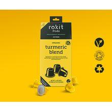 Rokit Pods Organic Turmeric Blend Nespresso Compatible Pods 20pk